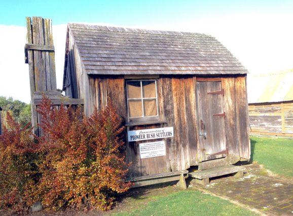 Pioneer Settlers Bush Hut
